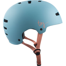 TSG Evolution Solid Color Helmet Women satin porcelain blue